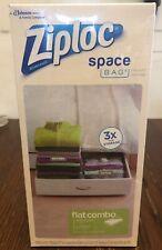Ziploc Space Bag Vacuum Seal Flat Combo