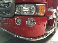 To Fit Scania P G R R 2009+ 6 Series Fog Lamp Chrome Trims Surround