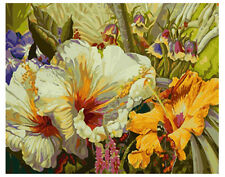 """New DIY Paint By Number 16*20"""" kit Oil Painting On Canvas Morning Glory 1322"""