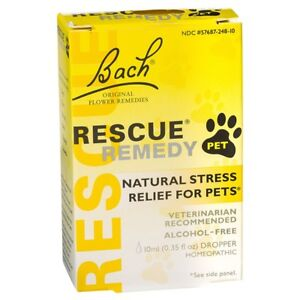 Rescue Remedy Pets 10ml - Flower Essence, Natural Stress Relief