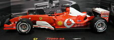HOT WHEELS 1:18 AUTO FERRARI F1 F2003 GA MICHAEL SCHUMACHER JAPAN GP N2077