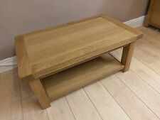 Kingsford Oak Small Coffee Table with Shelf 1m 60cm 45cm