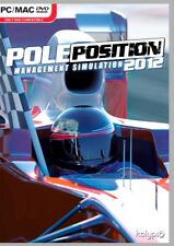 POLE POSITION 2012   MANAGEMENT SIMULATION  BRAND NEW  SHIPS FAST AND SHIPS FREE