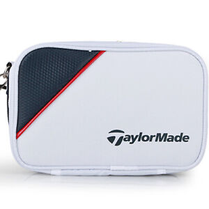 TaylorMade True-Lite Pouch Case Golf Accessory Bag with Strap (White) i