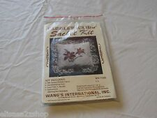 Candlewicking sachet kit NOS new old stock WKIT086 Wang's international Lily