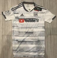 LAFC Authentic 2019/2020 Away White Jersey Adult Small S MLS Soccer Futbol