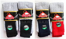 12 Pairs Men's Super Warm Heavy Thermal double Insulated Winter Socks Size 9-15