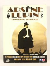 Arsene Lupin Gentleman Cambrioleur Saison 1 Coffret 3 DVD Georges Descrières