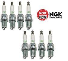 SET OF 8 NGK 7938 BKR5E V-POWER PREMIUM COPPER SPARK PLUGS MADE IN JAPAN