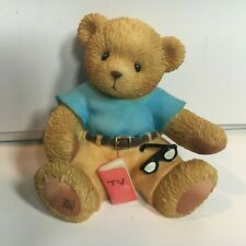 Very Rare Cherished Teddies 112455 Dad Fathers Day Tv Guide Mint Nib 4