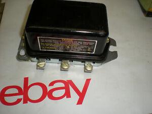 40 41 45 46 47 48 49 50 51 CADILLAC BUICK OLDSMOBILE NASH VOLTAGE REGULATOR 6v