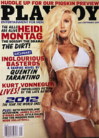 Playboy Magazine - Rare Heidi Montag Cover - September 2009 - in Wrapper