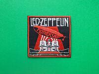 HEAVY METAL PUNK ROCK MUSIC FESTIVAL SEW ON / IRON ON PATCH:- LED ZEPPELIN