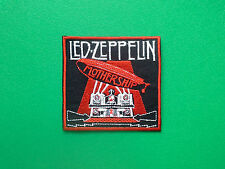 HEAVY METAL PUNK ROCK MUSIC FESTIVAL SEW ON / IRON ON PATCH:- LED ZEPPELIN