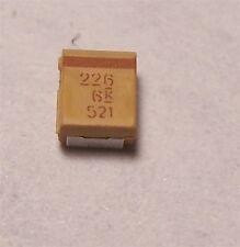 KEMET TANTALUM CAPACITORS 22uF 6V SMD (30 PCS)