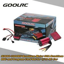 3300KV Sensorless Brushless Motor 60A Brushless ESC and Program Card Set Z0H4