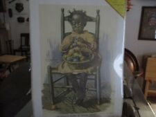 A Womans Work is Never Done Harry Roseland Print of Vintage Art Black Americana