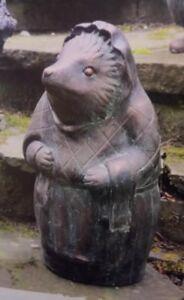 Mrs. Tiggy Winkle Garden Ornament Statue Beatrix Potter Bronze Peter Rabbit