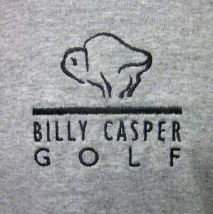 BILLY CASPER GOLF embroidery T shirt buffalo mascot PGA Tour golf tee