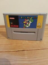 Super Mario World - SNES Super Nintendo - Game.