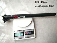 WCS 27,2 30,8 31,6 Fahrrad MTB rennrad carbon Sattelstütze 20 mm setback