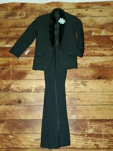 Vintage Black Suit Tux Hasbro Barbie KEN DOLL1960's & 70's ACCESSORY