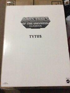 Mattel MOTU Masters Of The Universe Classics Tytus AF New SEALED