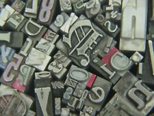 Mixed Metal Type  - Letterpress from the 50's era #3