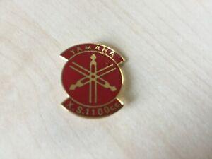 RARE Yamaha XS1100cc RED Motor Cycle Pin Badge