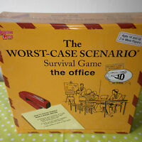 The Worst Case Scenario Board Game FACTORY SEALED University Games THE OFFICE
