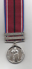 THE VOLUNTEER SERVICE MEDAL WITH 2 X CLASPS - SUPERB MEDAL OFFERED AT A DISCOUNT