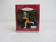 Vintage 1998 Hallmark Keepsake Ornament Joe Montana Notre Dame Collectible 27-3