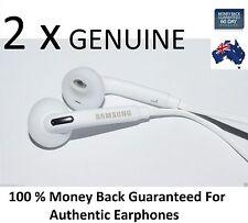 2XGENUINE Samsung Galaxy S7 / S7 Edge Handsfree Headphone Earphone