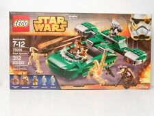 LEGO Star Wars 75091: Flash Speeder 312 pcs Ages 7-12  5 Mini Figures NEW!