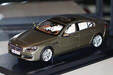 BMW 6er Gran Coupe F06 2012 bronce  Paragon/BMW 80432218742 1:18 neu & OVP