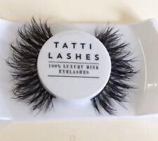 TATTI LASHES 3D MINK BRAZILIAN REAL HAIR FALSE EYELASHES STRIP LASHES GLUE INC