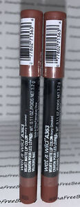 2 X Wet n Wild Velvet Matte Lip Color Stick Crayon A363 *HICKORY SMOKED* Duo Lot