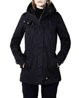 Elvine Womens 173506 Gunnel Parka Dark Navy M