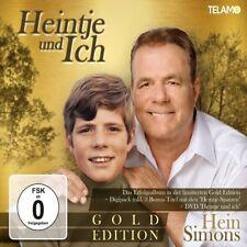 HEIN SIMONS - HEINTJE UND ICH (GOLD EDITION)   CD+DVD NEU