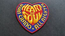 MOD SKA SCOOTER SEW ON / IRON ON PATCH:- WIGAN CASINO (a) HEART OF SOUL
