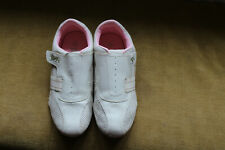 ladies size 5 lonsdale white slip on shoes