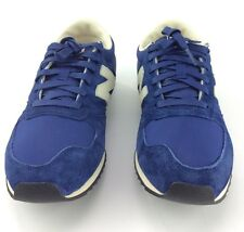 Mens New Balance 420 Blue Suede Leather Athletic Sport Walking Running Shoes