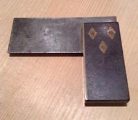 VINTAGE HAYWOOD & Co SMALL SQUARE WOODWORK CARPENTER CABINETMAKER TOOL SHEFFIELD
