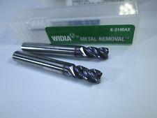 Lot 2 Pcs Widia Carbide End Mills 316 X 38 X 1 12 Roughing Lathe Tools