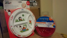 UNOPEN baby Bowl & Plate brand new