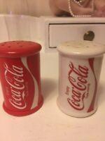 Coca-Cola Porcelain Salt and Pepper Set