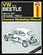 Volkswagen VW Beetle 1200 1954 - 1977 up to S Reg. Haynes Manual 0036