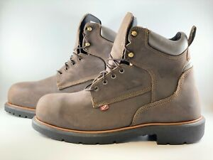 Red Wing Dynaforce 6 Inch Insulated Waterproof Safety Toe Boot Size 13 D - 4404