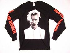 Justin Bieber Purpose Tour Concert Long Sleeve T Shirt sz S Small Black