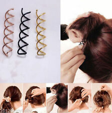 Hot 1pc Women Hair Styling Spiral Spin Screw Bobby Pin Hair Clip Twist Barrette